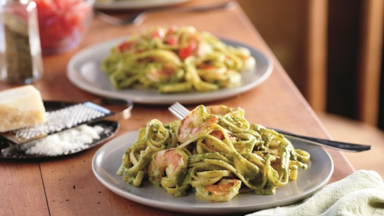 Photo of Sweet Pea Pesto Pasta by Del Monte