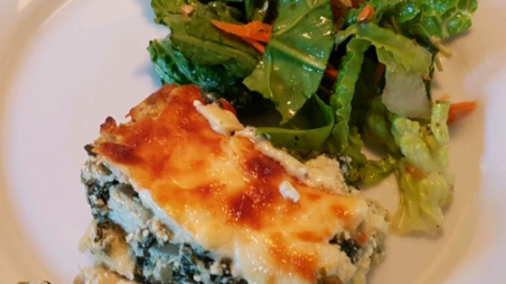 Photo of Chicken and Spinach Pesto Lasagna by merina