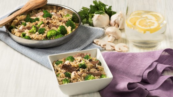 Photo of Savory Beef & Broccoli Rice by Uncle Ben's
