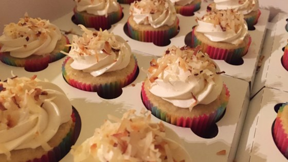 Photo of Coconut Cupcakes by Jessica