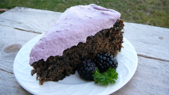 Photo of Crisp Evenings Blackberry Cake by Allison S.F.