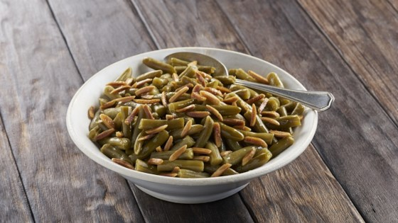 Photo of Toasted Almond Green Beans by Del Monte