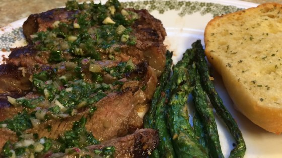Photo of Chimichurri Sauce for Steaks by Ty Robbins