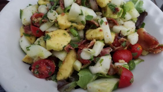 Photo of Bacon Avocado Salad by kristen