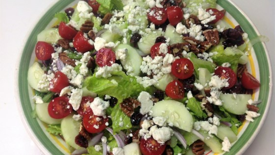 Photo of Blue Cheese and Dried Cranberry Tossed Salad by Michelle
