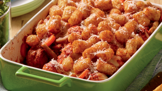Photo of Meatball Parmesan Hot Dish by Del Monte