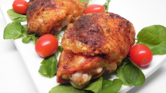 Crispy Baked Chicken Thighs Recipe