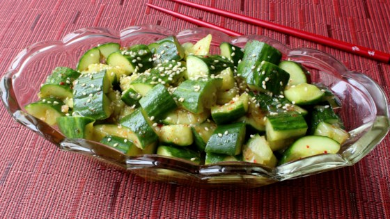 Smashed Cucumber Salad Recipe