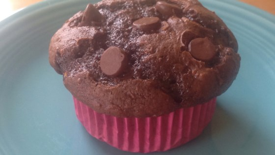 Easy Chocolate Zucchini Cupcakes