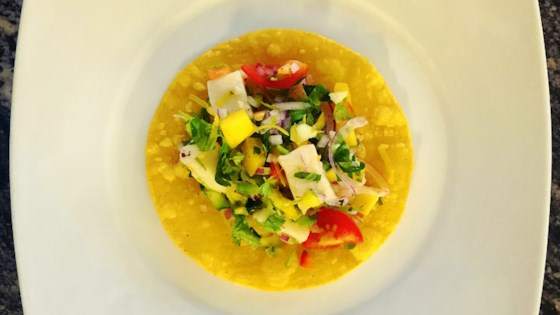 Photo of Halibut-Mango Ceviche by Vella