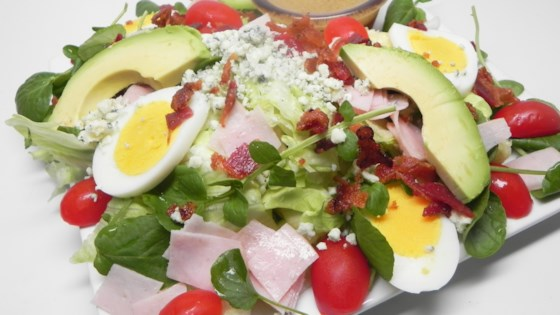 Photo of Cobb Salad with Brown Derby French Dressing by Peach822