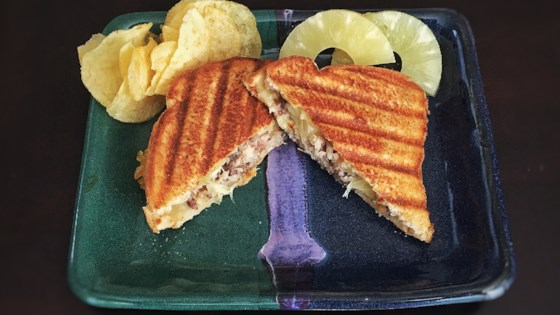 Photo of Sardines and Pineapple Sandwich Toast by Pearl Ishizaki