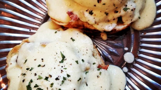 Photo of Creamy Mock Hollandaise Sauce by Andie