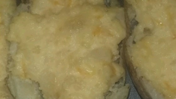 Photo of Twice Baked Cheesy Potatoes by Betsy Loeffler
