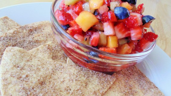 Photo of Annie's Fruit Salsa and Cinnamon Chips by Ann Page