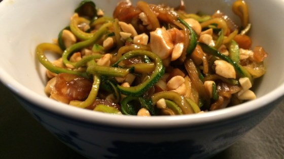 Photo of Sticky Peanut Zoodles by Mimi