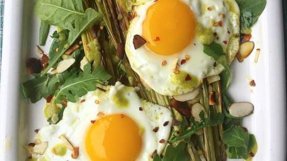 Photo of Roasted Leeks with Eggs (Paleo and Keto-Friendly) by paleo.pineapple