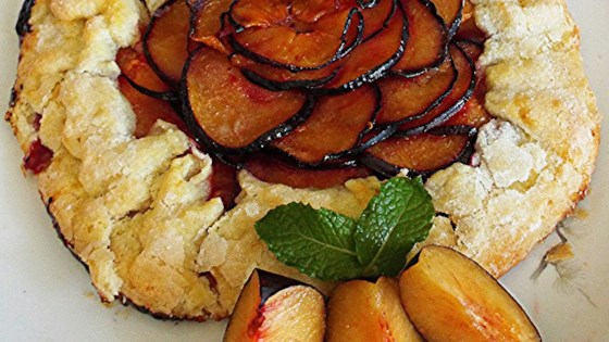 Photo of Pluot Lime Galette by Yoly