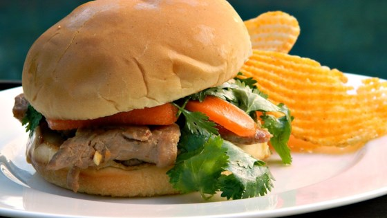 Photo of Soy-Marinated Pork Sandwiches by Cooking44
