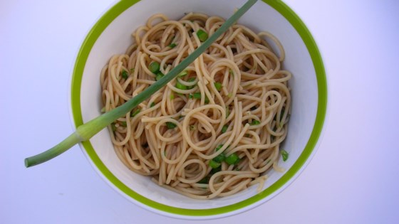 Photo of Pasta with Garlic Scapes by gartenfee