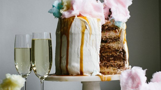 Photo of Champagne Funfetti® Ice Cream Cake by Ashley Baron Rodriguez