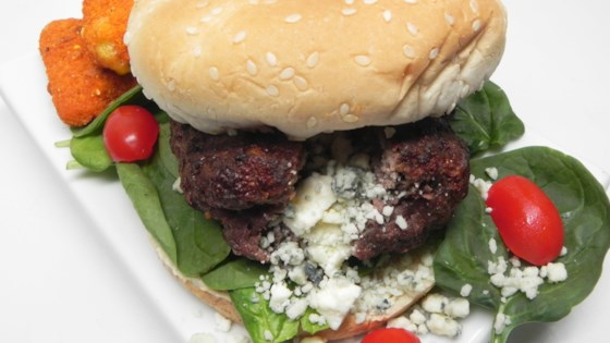 Photo of Greek Stuffed Burgers by Asia Burk