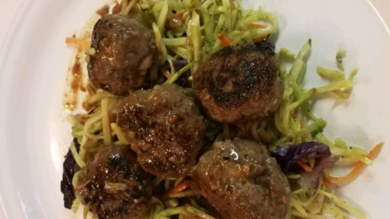 Photo of Honey-Garlic Moose Meatballs by Kristen Rose