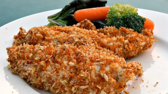 Baked Chicken Strips with Dijon and Panko Coating Recipe