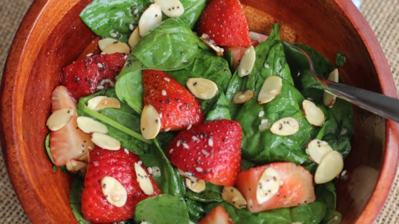 Photo of Strawberry Spinach Salad I by TOZENUF