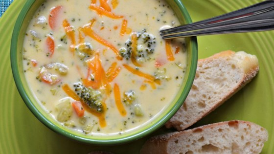 Sandy's Homemade Broccoli and Cheddar Soup Recipe