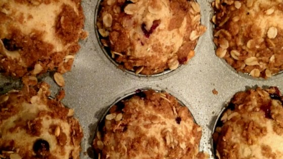 Photo of Whole Wheat Huckleberry Crumb Muffins by Maureen S