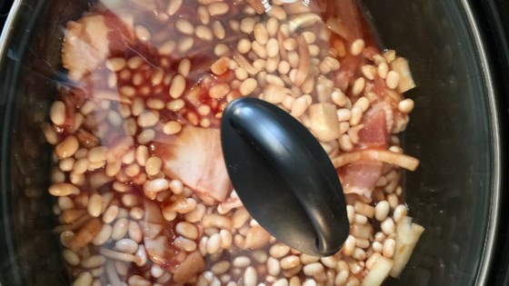Photo of Slow Cooker Homemade Beans by TLEFURGEY