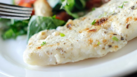 Photo of Healthier Broiled Tilapia Parmesan by MakeItHealthy