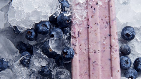 Photo of Blueberry Yogurt Pops by Abigail Siders