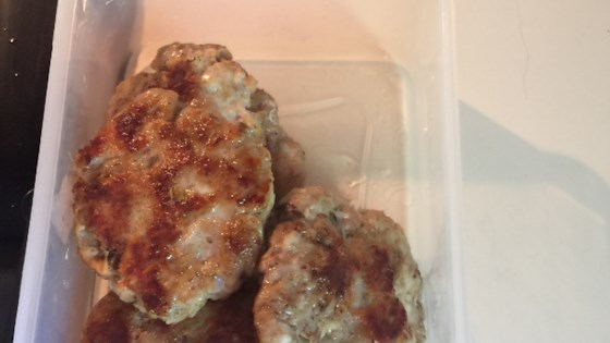 Photo of Turkey Sausage Patties by d1spl@y n@m3