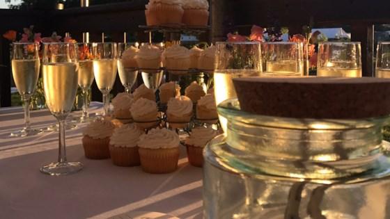 Photo of Champagne Cupcakes by Saundra Wilson Pitt