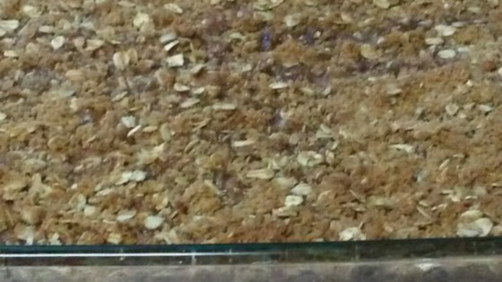 Photo of Mom's Rhubarb Crisp by Nikki