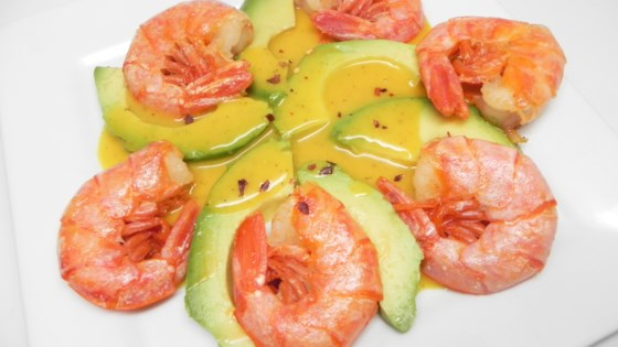 Photo of Antipasto di Gamberi e Avocado con Maionese alla Senape (Prawn and Avocado Starter with Mustard Dip) by Angelo