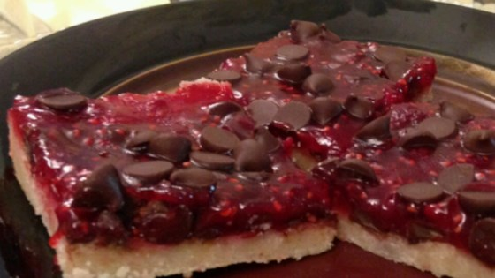 Photo of Raspberry Chocolate Bars by Laura Fraser