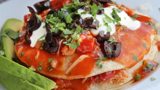 Enchiladas - New Mexico Style Recipe