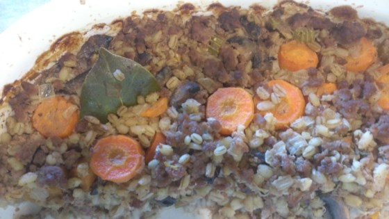 Photo of Beef and Barley Casserole by Dairygirl