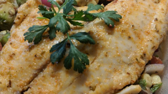 Photo of Cajun Tilapia with Southwestern Salsa by Phillip Brantley