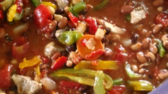 Photo of Slow Cooker Ham and Bean Stew by MICHELE1028