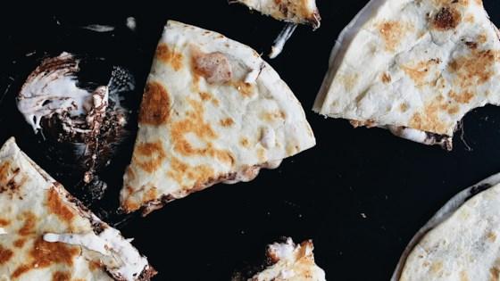 Gooey Tortilla S'more
