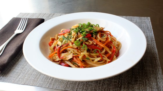 Photo of Spicy Chicken Noodles by Chef John