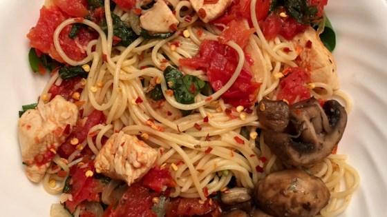 Photo of Spaghettini Chicken by BZEEFMOM