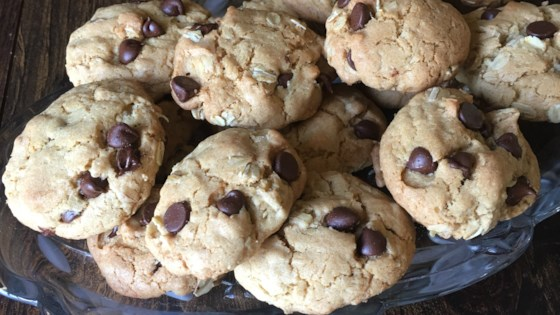 Photo of Coconut Oil Milk Chocolate Chip Oat Cookies by House of Aqua