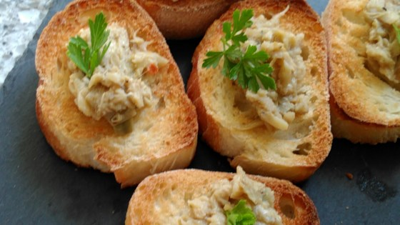 Photo of Easy Artichoke Crostini by Rachel