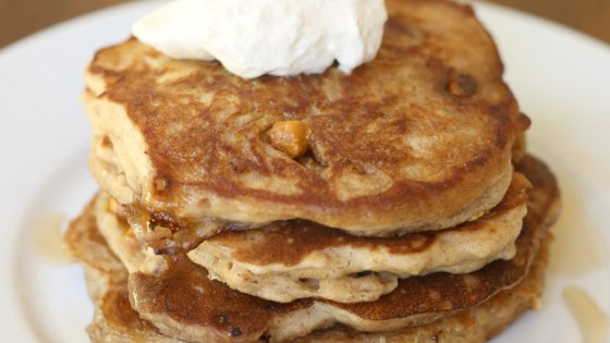 Photo of Oatmeal Scotchie Pancakes by Julie Hubert