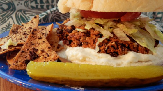 Photo of Sweet Potato Black Bean Burgers by ESPANA1